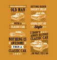 car quote saying best for print design like vector image vector image