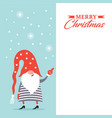 christmas banner with place for your text vector image vector image