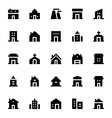 City Elements Icons 3 vector image vector image