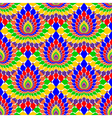 Design seamless colorful pattern vector image