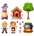 hansel and gretel collectio vector image