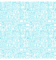 internet security white seamless pattern vector image vector image