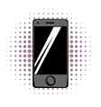 Modern smartphone comics icon vector image vector image