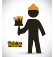 painters design vector image