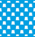 turkish fez pattern seamless blue vector image vector image
