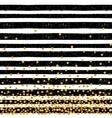 Festive pattern of random gold dots vector image vector image