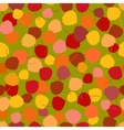 Seamless pattern of multicoloured rich vector image vector image