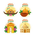 welcome to india vector image vector image