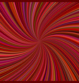 abstract maroon spiral rays background vector image vector image