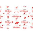 christmas seamless pattern backdrop holiday vector image vector image