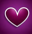heart design background vector image vector image