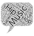 Hip Hop Beats Online New Ideas in Music text vector image vector image