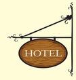 Hotel2 vector image