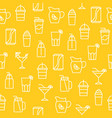 kitchen appliances seamless pattern for wallpaper vector image