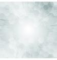 Light grunge tech background vector image vector image