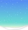 SnowBackground X vector image vector image