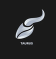 Taurus Horoscope Icon vector image vector image