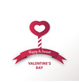 valentines or womens day for sweet card vector image