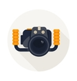 camera for diving vector image