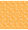 Cute cones seamless pattern vector image vector image