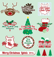 Merry christmas labels vector | Price: 1 Credit (USD $1)