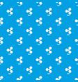 ripple pattern seamless blue vector image vector image