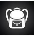 School rucksack icon vector image vector image
