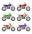 sport motorbikes vector image