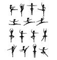 dancer design vector image vector image