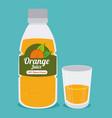 drinks design icom ilstration vector image vector image