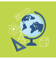 flat education content vector image