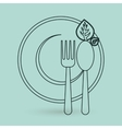 Kitchen icon design vector image