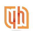 Logo Letter Infinity Number 4 Lettering Design