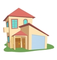 Modern house icon cartoon style vector image vector image