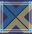 plaid stripes tartan fabric seamless pattern vector image vector image