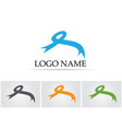 ribbon symbols and logo icons template app vector image