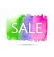sale-green-violet-pink vector image vector image