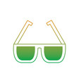 sunglasses accessory fashion protection visual vector image vector image