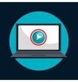 tv online design vector image vector image