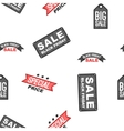 Black friday badges pattern cartoon style vector image vector image
