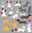 dogs clipart vector image vector image