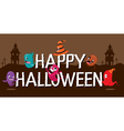 Monsters With Halloween Alphabets vector image vector image