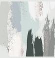 pastel green grey glitter pattern brush stroke vector image vector image
