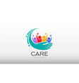 people care vector image