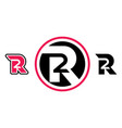 r2 company logo vector image