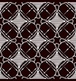 seamless pattern of lace cloth white ornament on vector image vector image
