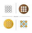 structure symbol icon vector image vector image