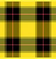 tartan pattern scottish cage background vector image vector image