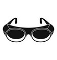 welding glasses icon simple style vector image vector image