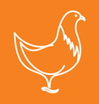 Chicken1 resize vector image